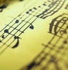 Close Up of Music